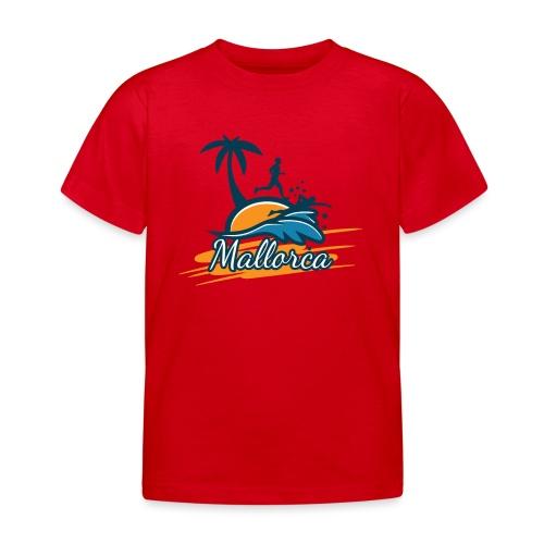 Joggen auf Mallorca - Sport - sportlich - Jogging - Kinder T-Shirt