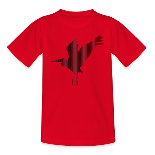 LINE BIRD 034b - Kinderen T-shirt