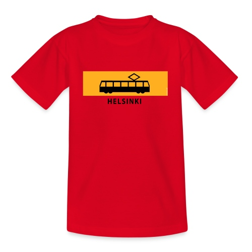 RATIKKA PYSÄKKI HELSINKI T-paidat ja lahjatuotteet - Lasten t-paita