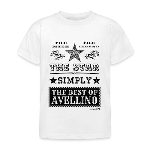 1,03 The Star Legend Avellino - Maglietta per bambini