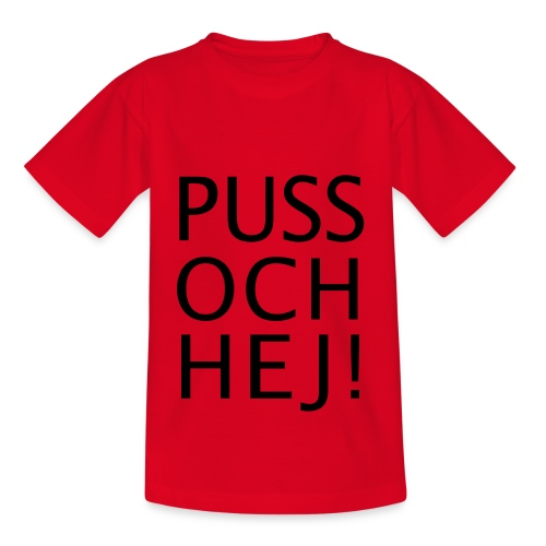 PUSS OCH HEJ! - T-shirt barn