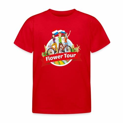 Flower Tour rondom Keukenhof - Kinderen T-shirt