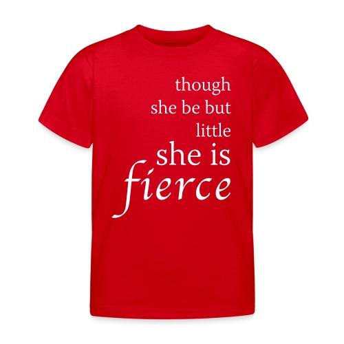 she-is-fierce - Kids' T-Shirt