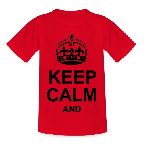 KEEP CALM - Kids' T-Shirt