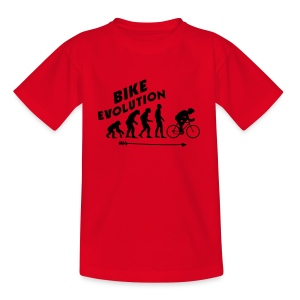 Bike Evolution (BLACK) - Kinder T-Shirt
