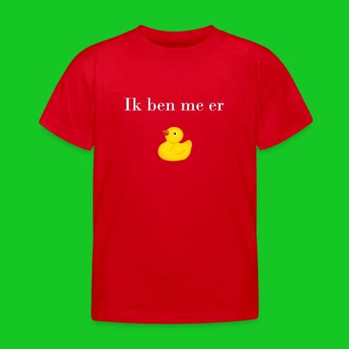 Ik ben me er eendje - Kinderen T-shirt