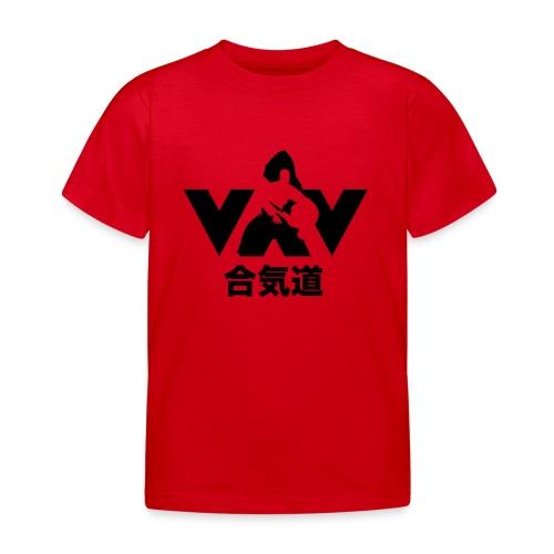aikido zwart - Kinderen T-shirt