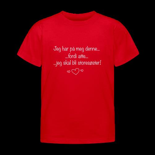 Storesøster Collection - T-skjorte for barn