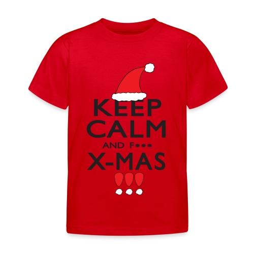 Keep calm XMAS - Kinder T-Shirt