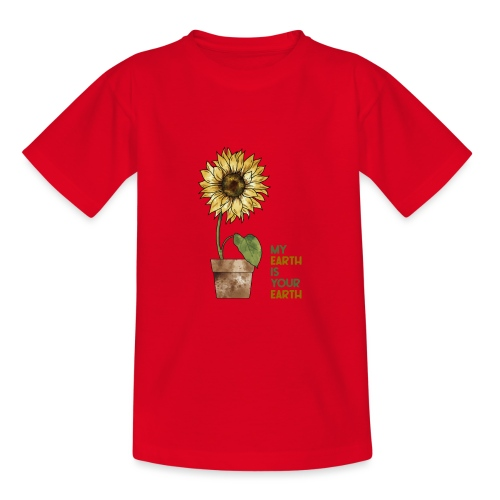 My earth is your earth - Kinder T-Shirt