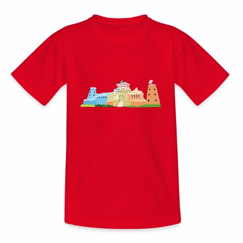 Castle - Kids' T-Shirt
