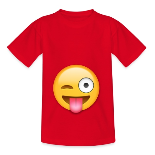 Winking Face - Kinder T-Shirt