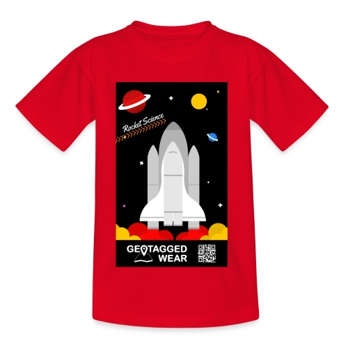 Rocket Science Kids - Kinder T-Shirt