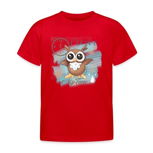 GUFO-E-TEMPO - Maglietta per bambini