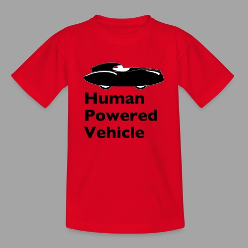 Quattrovelo Human Powered Vehicle black - Lasten t-paita