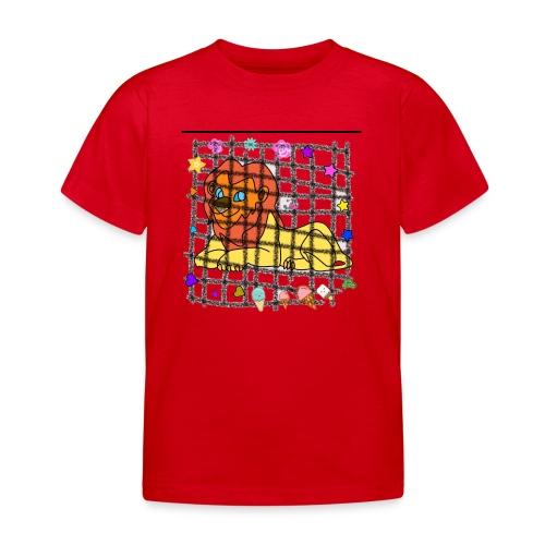 Lion dans son cage - T-shirt Enfant