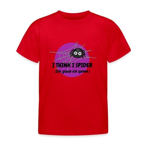 I think I spider! - Kinder T-Shirt