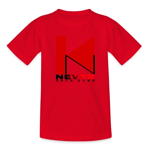NEVER BACK DOWN - T-shirt Enfant