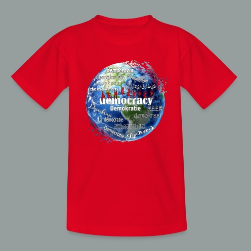 democracy - Kinder T-Shirt