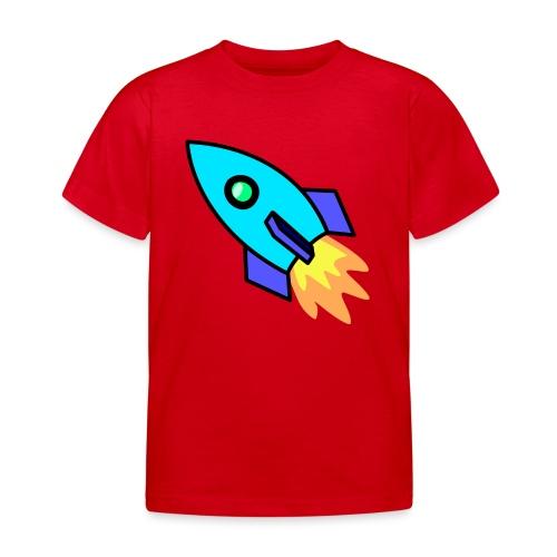 Blue rocket - Kids' T-Shirt