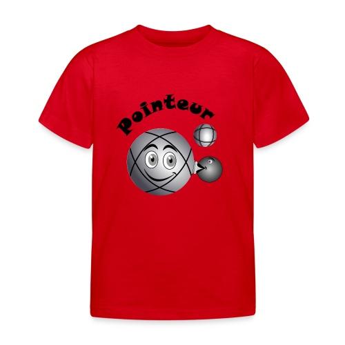 t shirt pointeur pétanque boule existe en tireur N - T-shirt Enfant