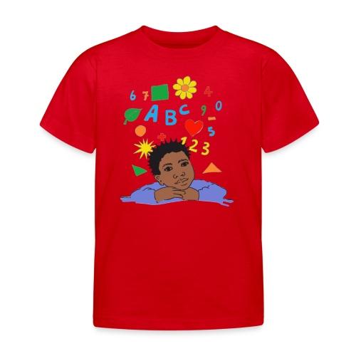 schoolkid 001 - Kinder T-Shirt