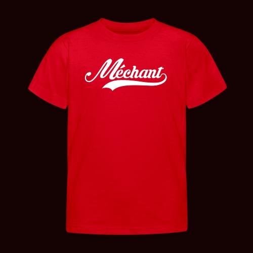mechant_logo_white - T-shirt Enfant