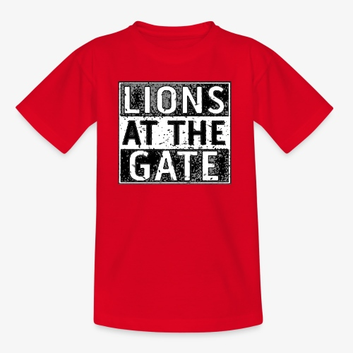 LIONS AT THE GATE BAND LOGO - Kinderen T-shirt