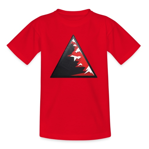 Climb high as a mountains to achieve high - Kids' T-Shirt