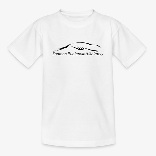 SUP logo musta - Lasten t-paita