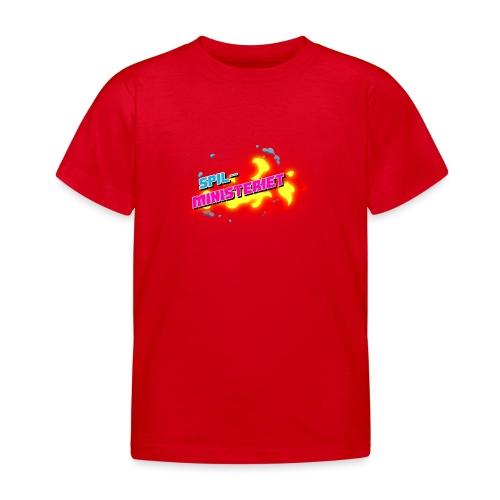 Spilministeriet - Børne-T-shirt