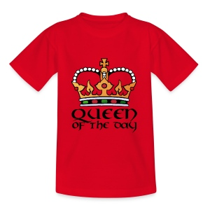 Queen of the day - Kinder T-Shirt