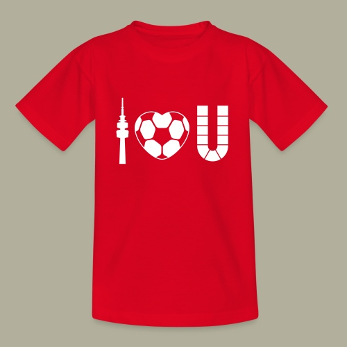 Dortmund I Love U - Kinder T-Shirt