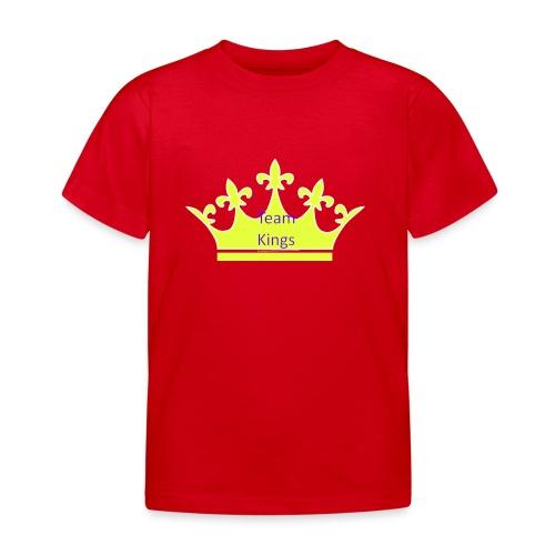 Team King Crown - Kids' T-Shirt
