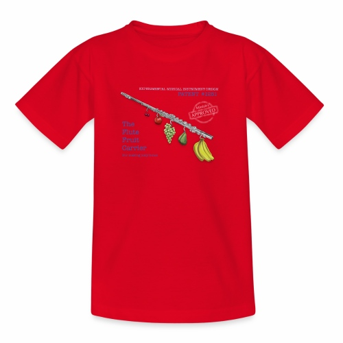Experimental Musical Instruments - Flute Fruit - Kids' T-Shirt