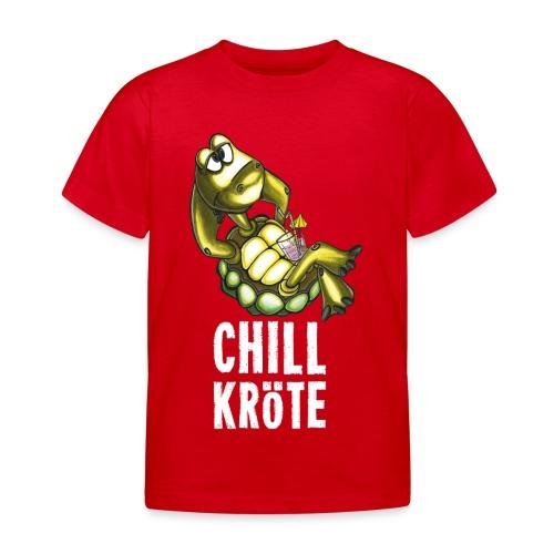 Chillkröte - Kinder T-Shirt