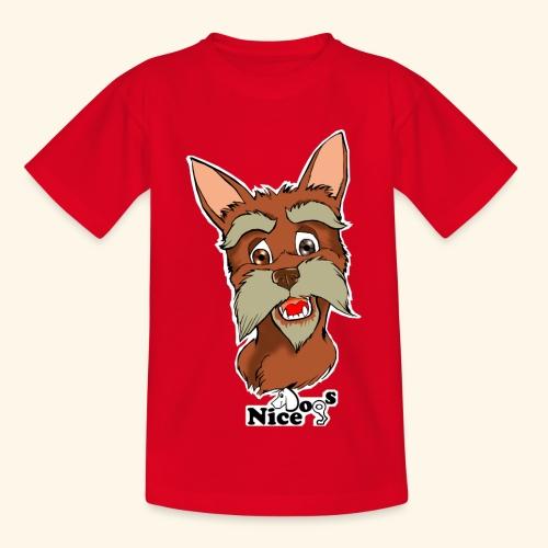 Nice Dogs schnauzer - Maglietta per bambini