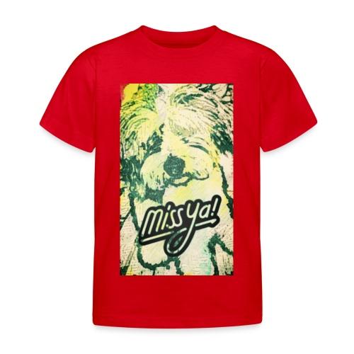 Musste, süsser Hund - Kinder T-Shirt