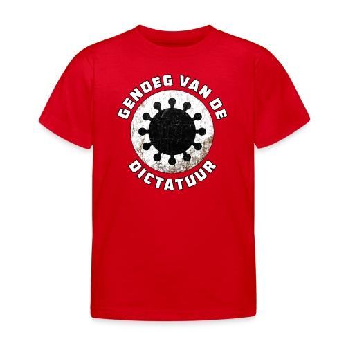 Genoeg van de Dictatuur - Kinderen T-shirt
