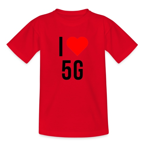 ilove5g - Kinder T-Shirt