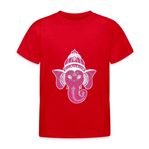 shiva namaste yoga pace amore hippie fitness art - Maglietta per bambini