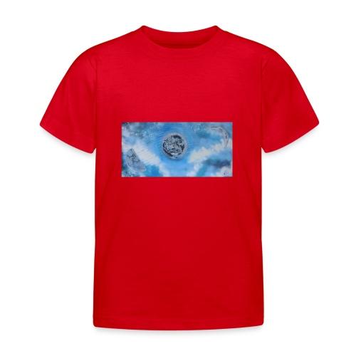 La lune dans tous ses etats - T-shirt Enfant
