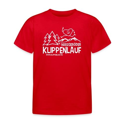 Klippenlauf Harzgerode - Kinder T-Shirt