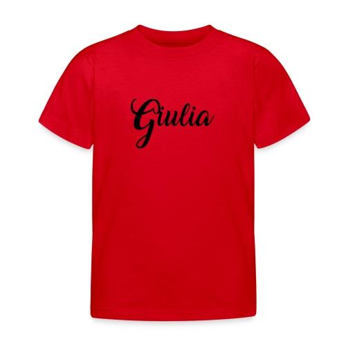 giulia - Maglietta per bambini