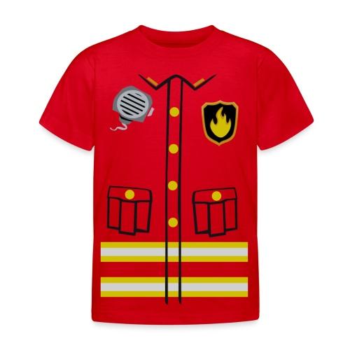 Firefighter Costume - Kids' T-Shirt