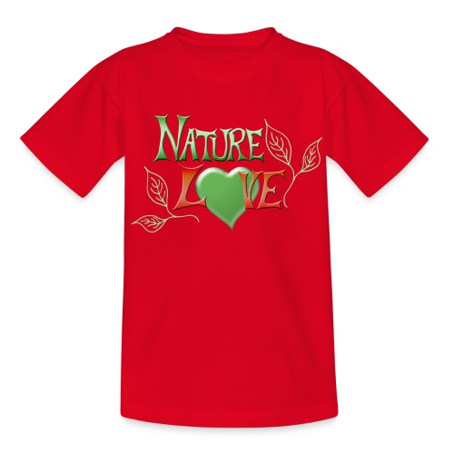 Nature Love - Kinder T-Shirt