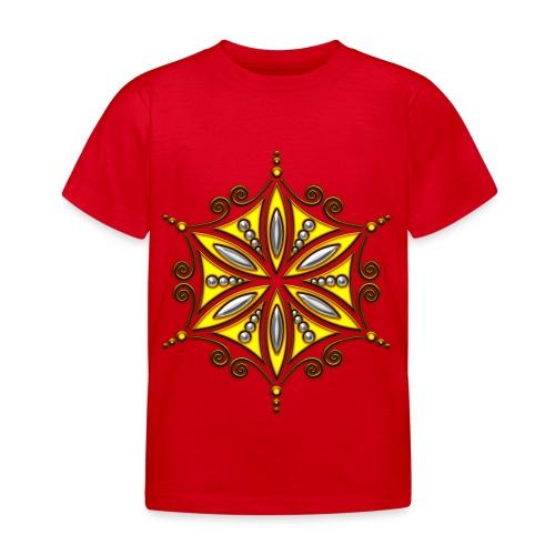 Aphrodite Amulett - Blume des Lebens - Kinder T-Shirt