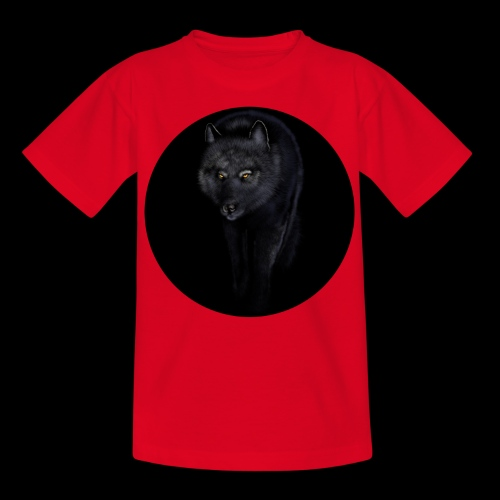 Black Wolf - Kids' T-Shirt