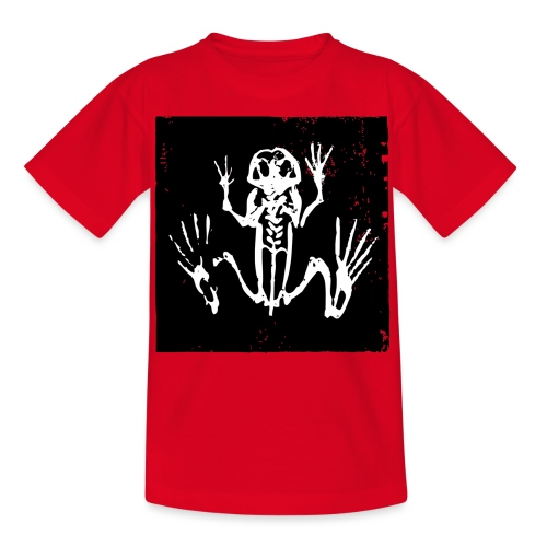 Museum Frog Skeleton - Kids' T-Shirt