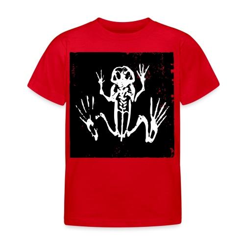 Museum Frog Skeleton - Kids' T-Shirt